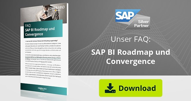 Reporting mit SuccessFactors: SAP BI Roadmap