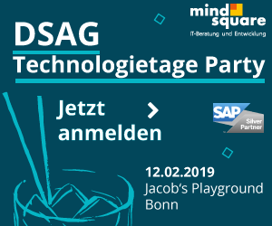 DSAG Technologietage Party