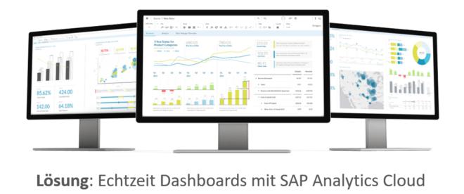 Echtzeit Dashboards mit SAP Analytics